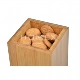 Homex Bamboo Canister with Handle