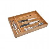 Homex Bamboo Cutlery Tray