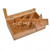 Homex Bamboo Tea Box