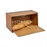 Homex Bamboo Bread Box