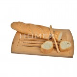 Homex Bamboo Bread Board
