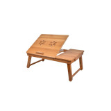 Homex Bamboo Laptop Bed Tray