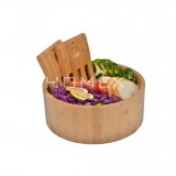 Homex Bamboo Salad Bowl