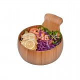 Homex Round Bamboo Bowl