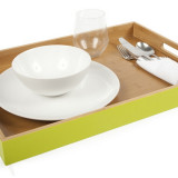 Homex Rectangle Bamboo Tray