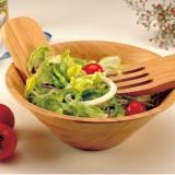Homex Bamboo Salad Bowl