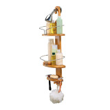 Homex Bamboo Shamboo Shower Caddy