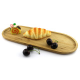 Homex Bamboo Oval Serving Tray