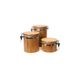 Homex Bamboo Canister