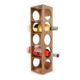 Homex Bamboo Wine Holder