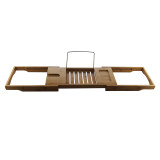 Homex Bamboo Bathtub Caddy Tray