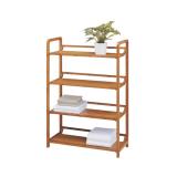 Homex 4 Tier Bamboo Shelf