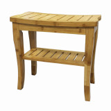 Homex Bamboo Shower Bench