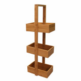 Homex 3 Basket Bathroom Stationary Caddy