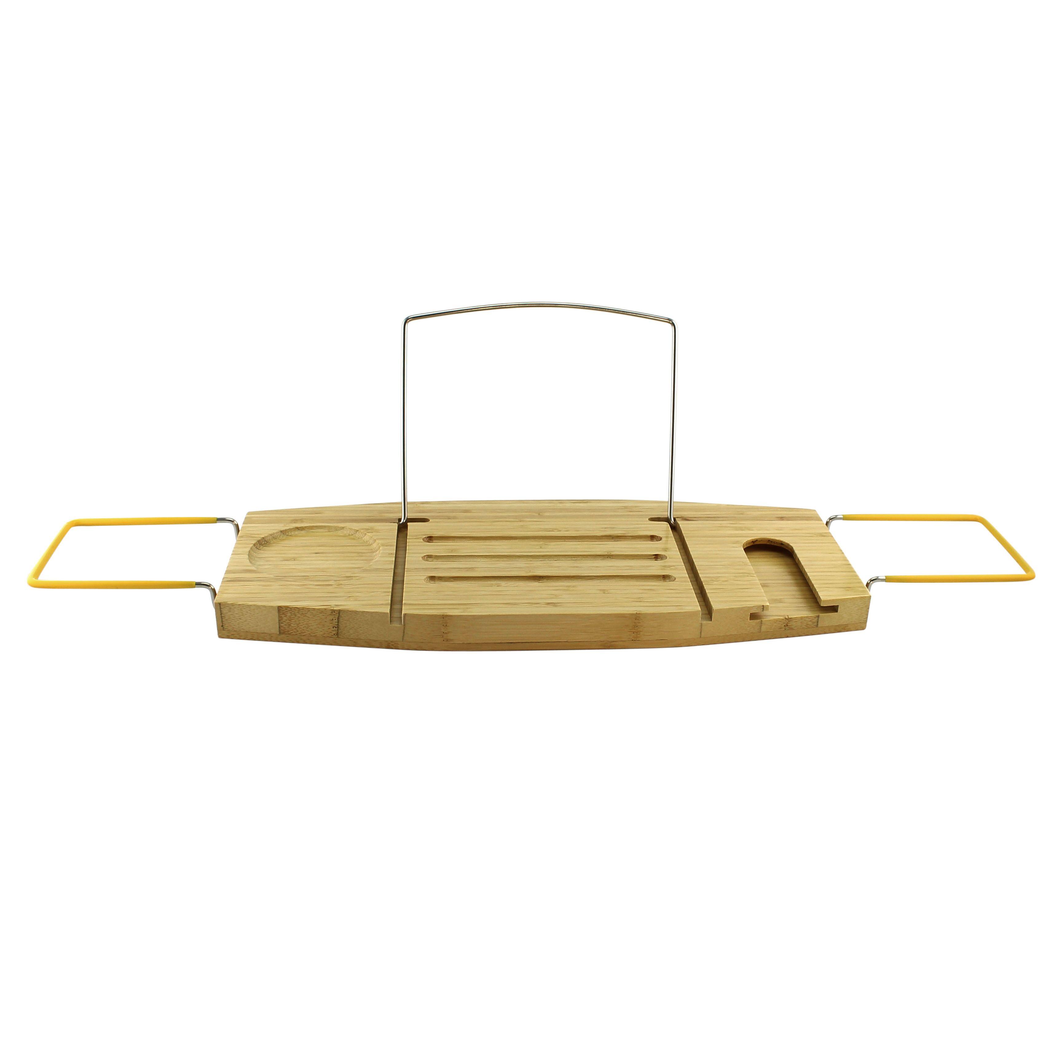 Homex Bamboo Bathtub Caddy | HOMEX