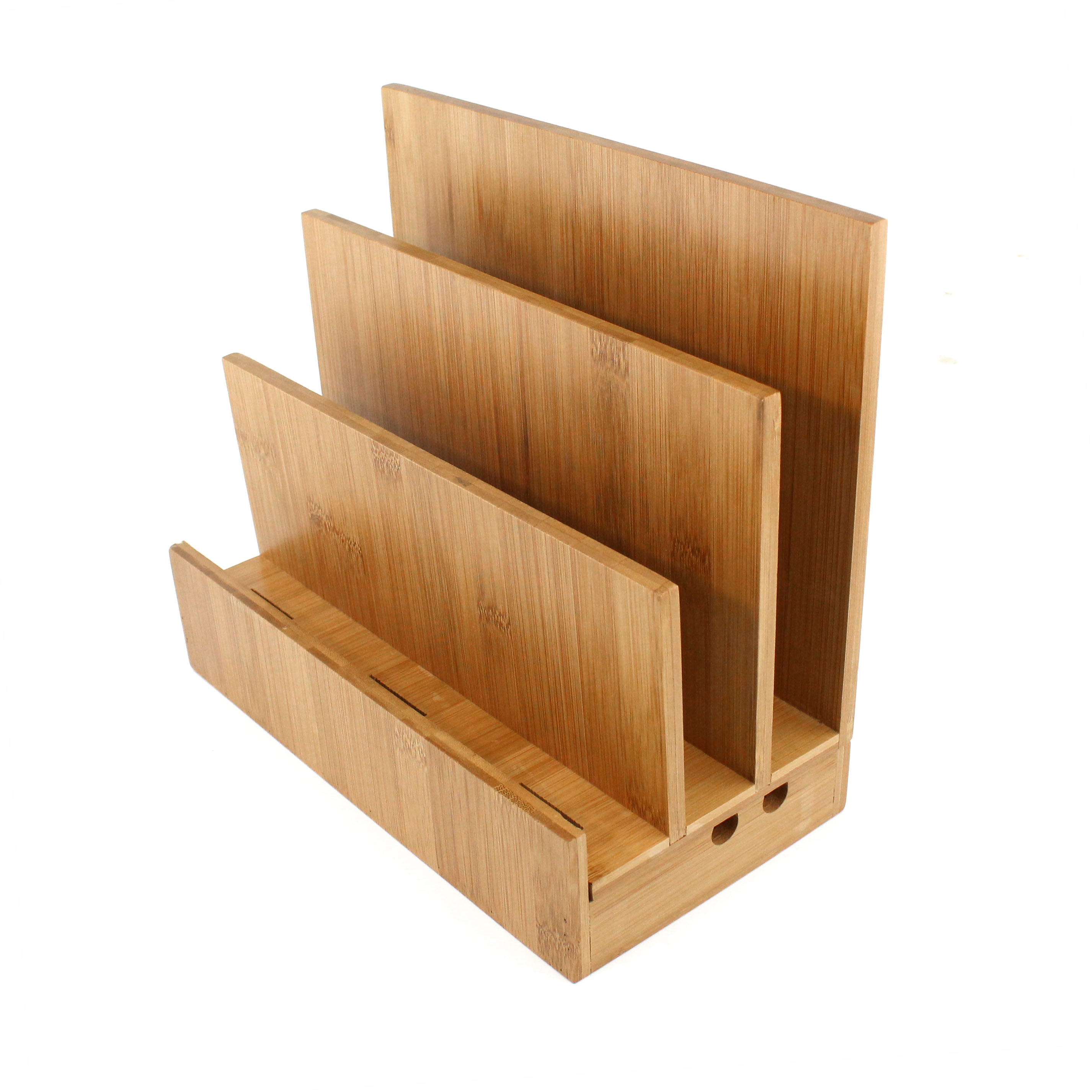Charging Station Shelf Bamboo Ipad Charging Station Homex
