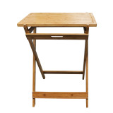 Homex Bamboo Foldable Snack Table