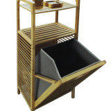 Homex Bamboo Hamper Shelf
