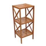 Homex Bamboo Shelf Rack