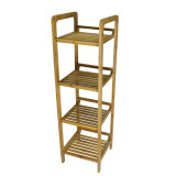 Homex 4 Tier Bamboo Shelf