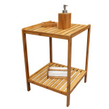 Homex 2 Tier Bamboo Shelf