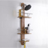 Homex Bamboo Shower Caddy