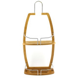 Homex Bamboo Shower Organizer Caddy