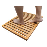 Homex Bamboo Shower Mat