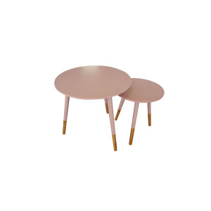2pc Nesting Table Set