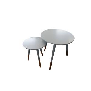 2pc Nesting Table Set
