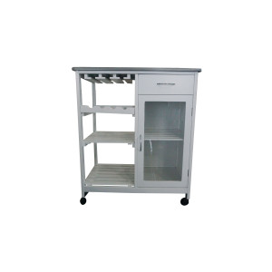 Wood Kitchen Trolley