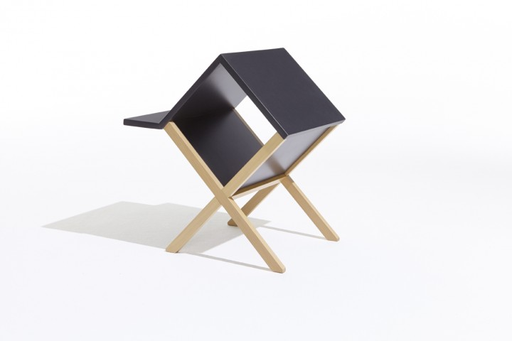 New Port Multi-functional Side Table Nightstand From Homex