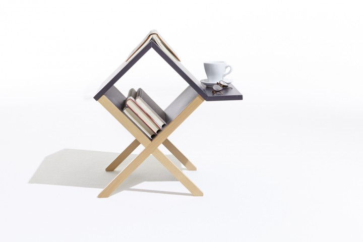 New Port Multi-functional Side Table Nightstand From Homex2