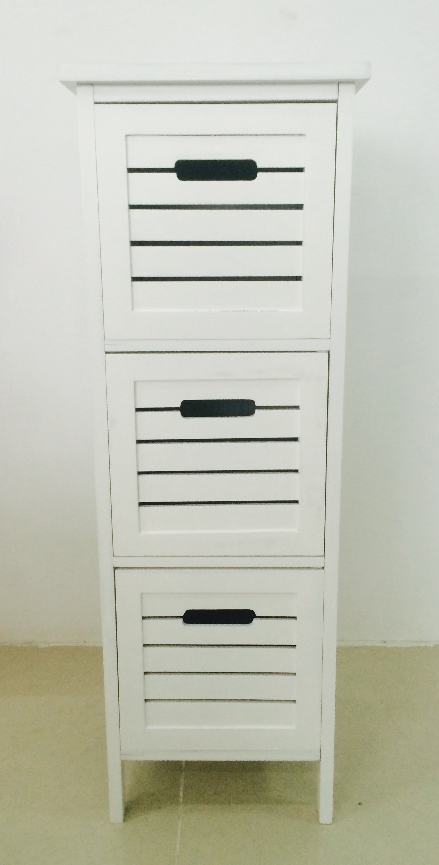 Contemporary MDF 3 Tier Shelf with drawers (4)