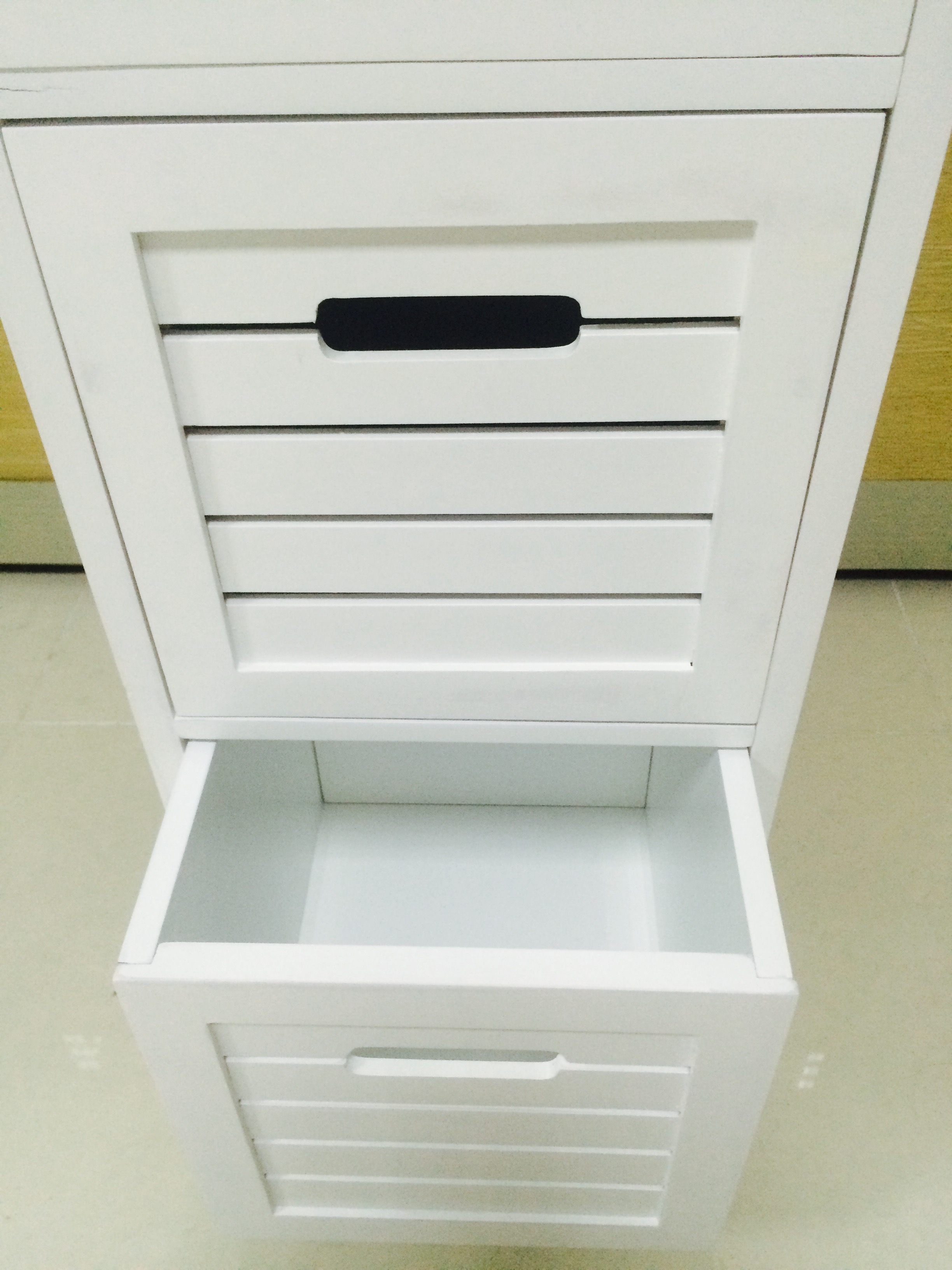 Contemporary MDF 3 Tier Shelf with drawers (5)