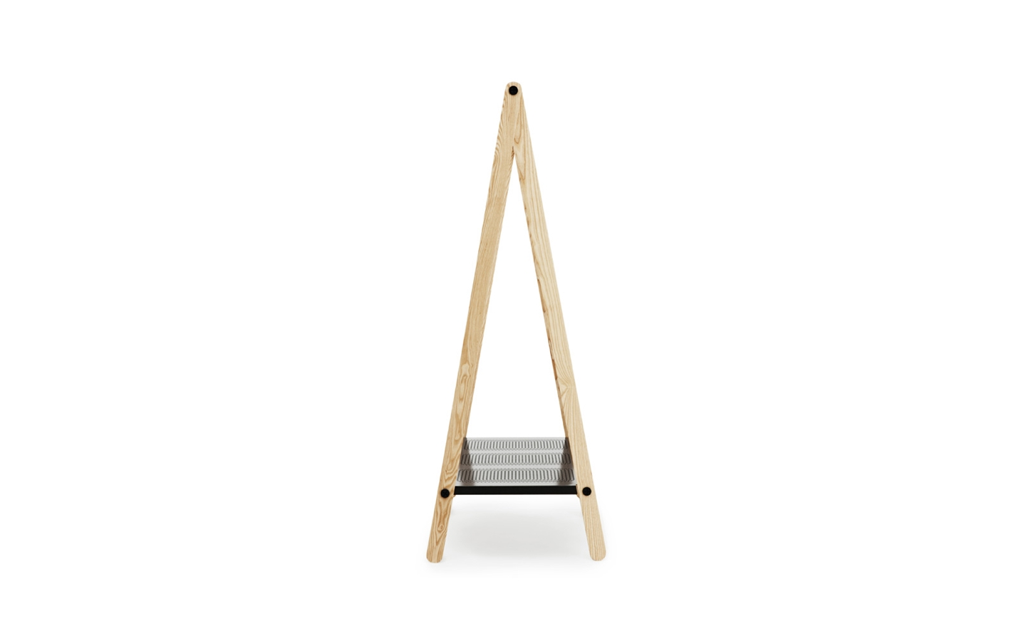 Delicate Modern Standing Clothes Rack  (2)