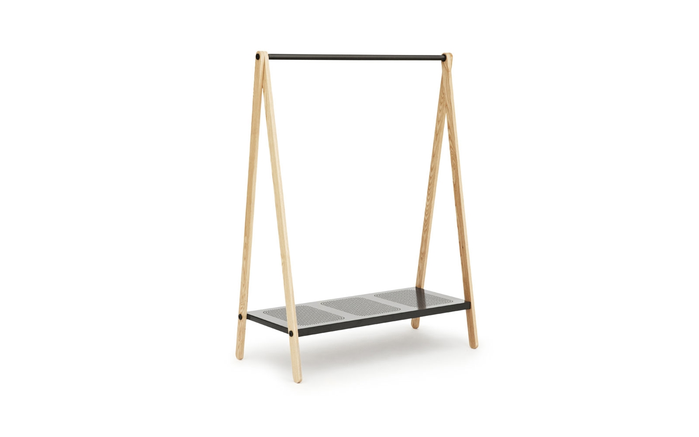 Delicate Modern Standing Clothes Rack  (3)