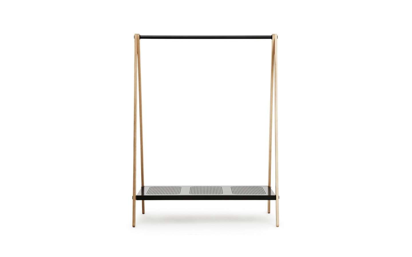 Delicate Modern Standing Clothes Rack  (4)