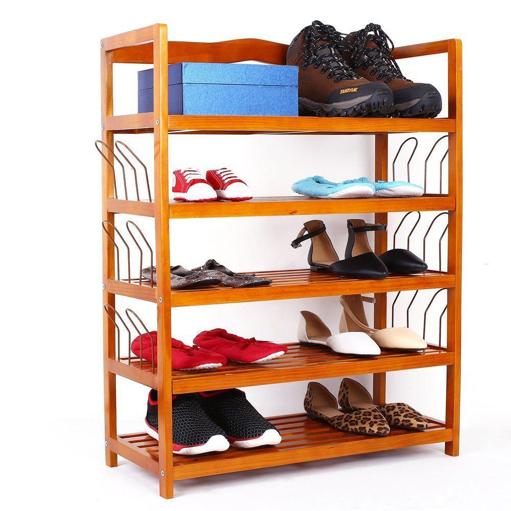 ... Wooden Shoe Storage Rack Shoe Organizer Shoes Storing  Img_0723