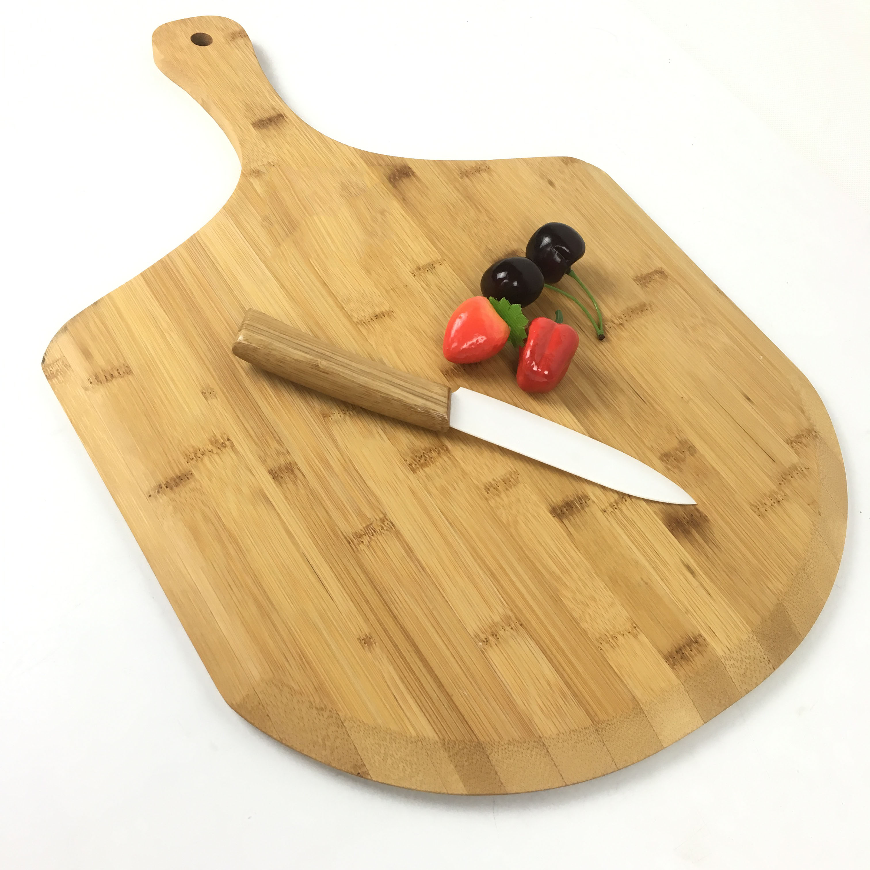 Homex Bamboo Pizza Peel Paddle For Pizza Fruit