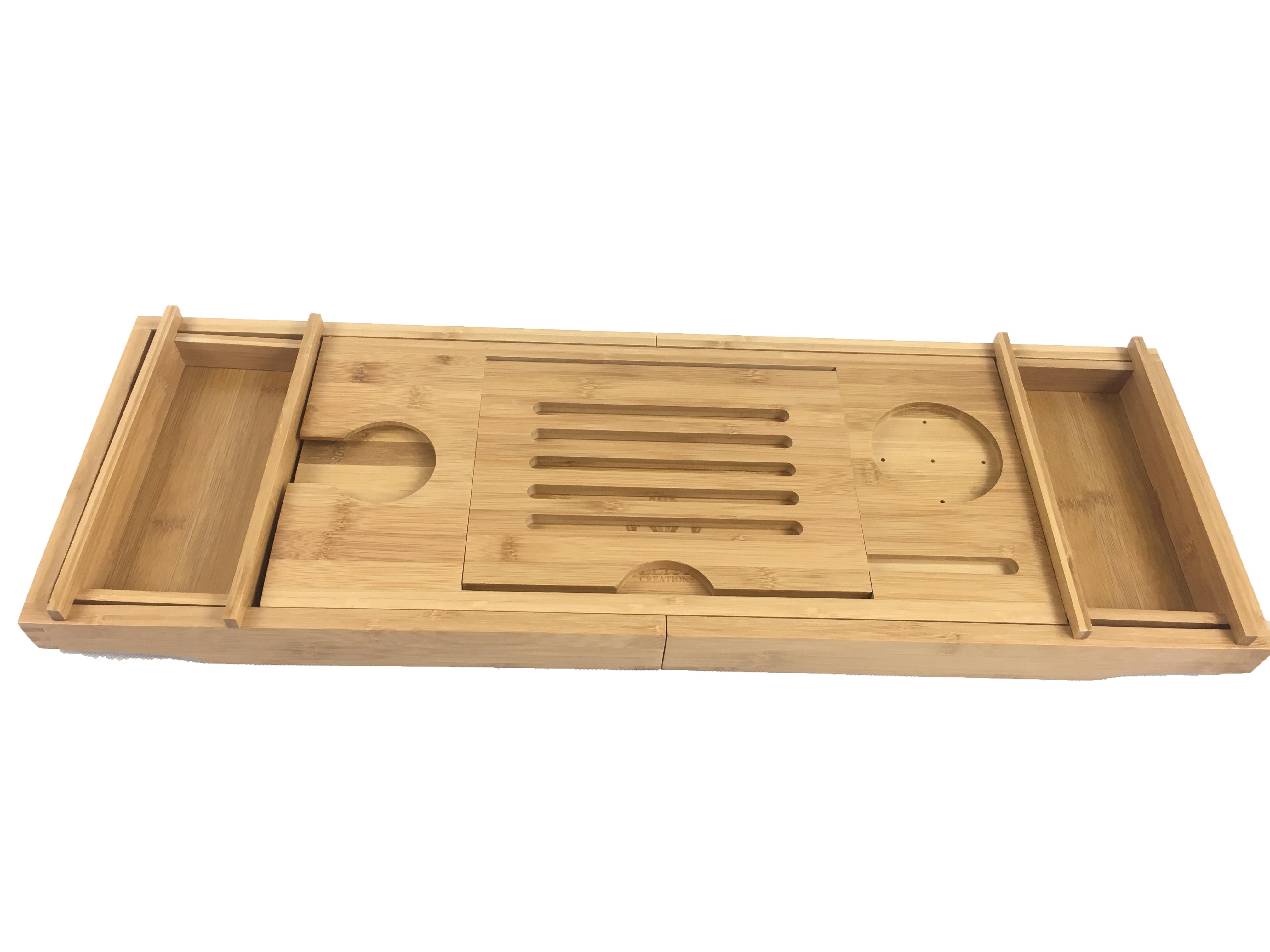 Bathtub Caddy & Laptop Bed Desk – 2 In 1 Innovative Design | HOMEX